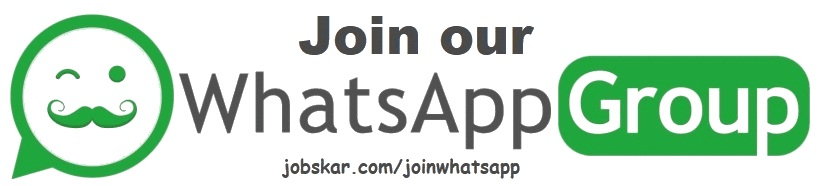 For Instant Alerts, Join with us on Whatsapp Group